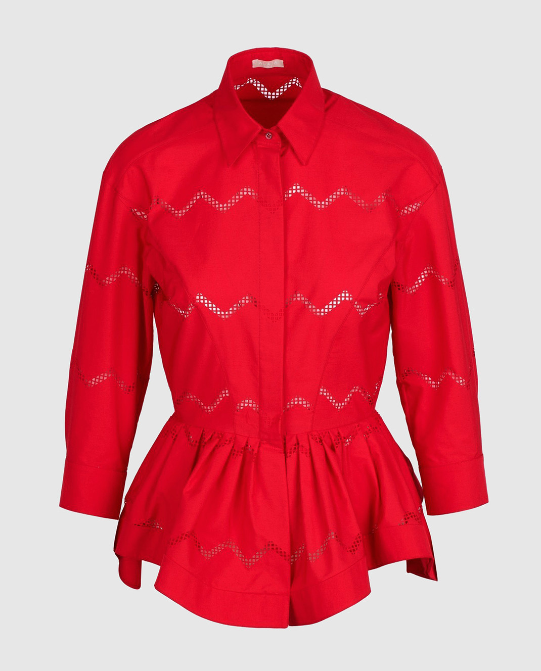 Azzedine Alaia Красная блуза 7S9C081RTL49