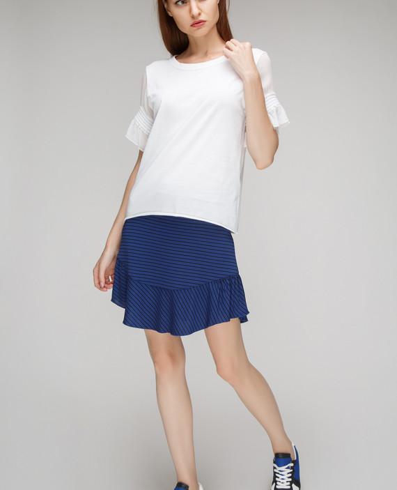 Синяя юбка hover