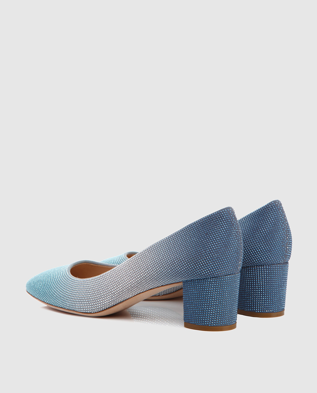 Casadei Синие кожаные туфли 1F380D050LULU изображение 4
