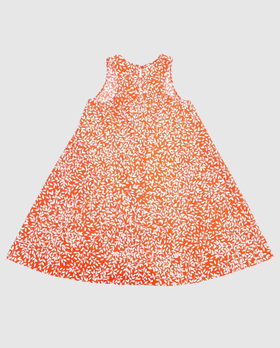 Alexander Terekhov Детское оранжевое платье KIDSD065 изображение 2