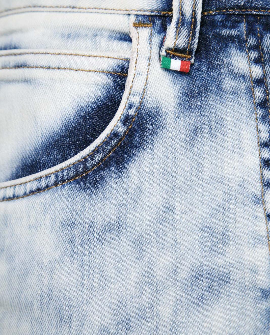 Philipp Plein Голубые джинсы WDT0368 изображение 3