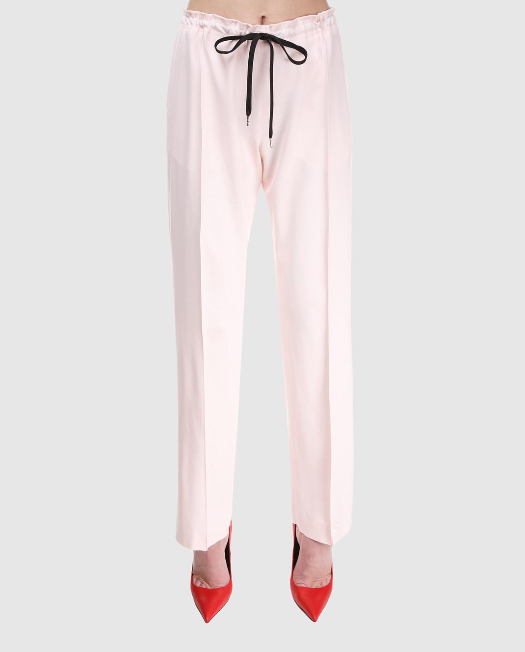 Ermanno Scervino Розовые брюки D326P307CQN изображение 3