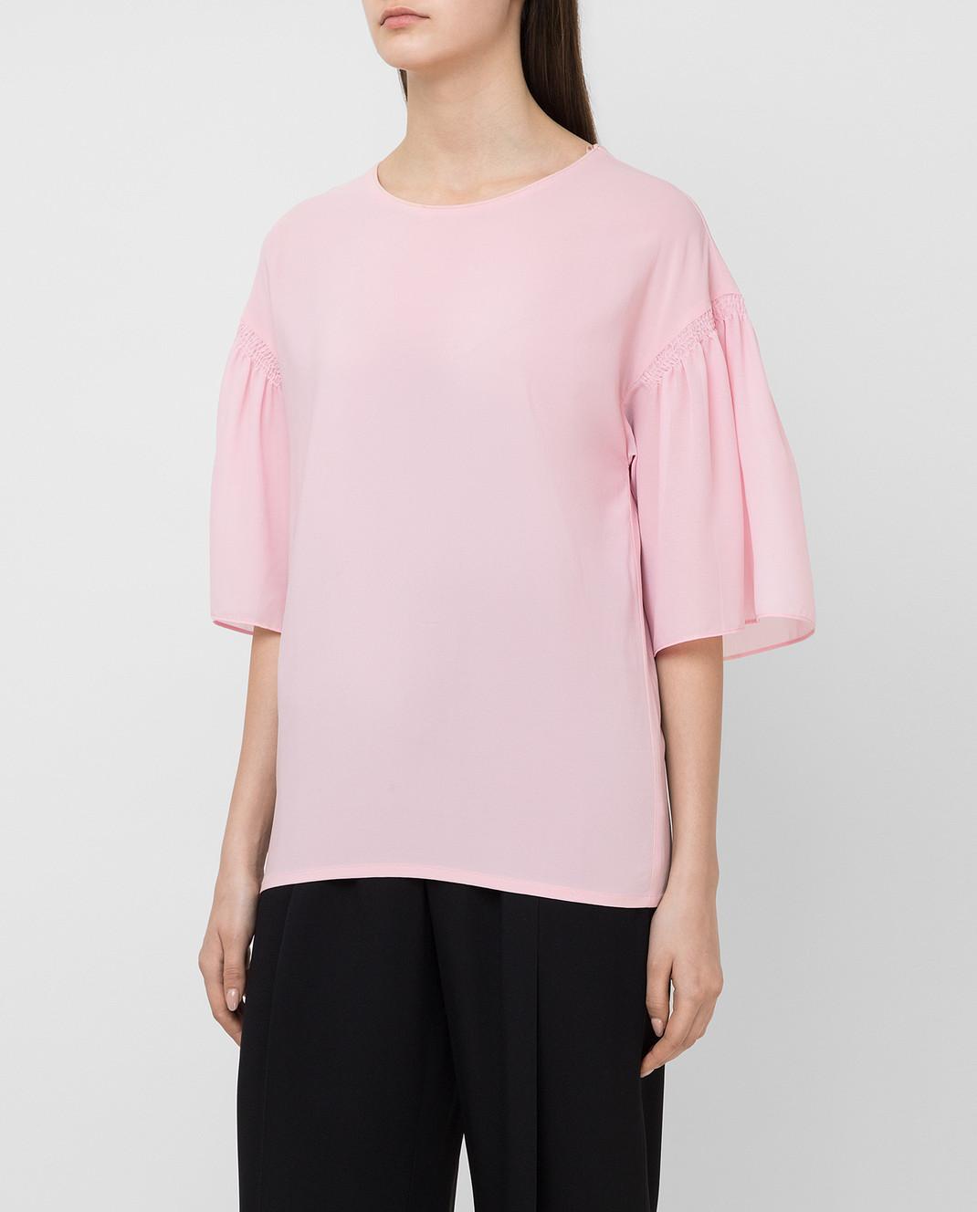 Pinko Розовая блуза 1B11QP изображение 3