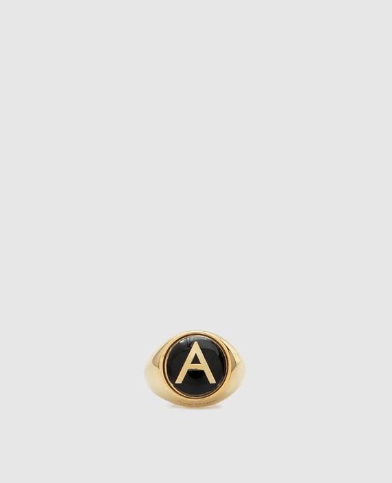 Золотистый перстень