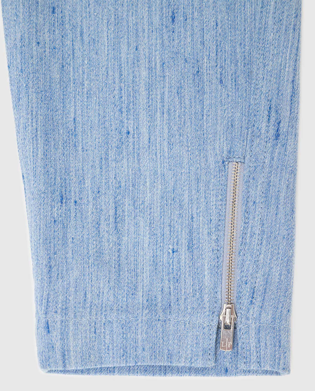 Loro Piana Детские голубые джинсы F1FAI0907 изображение 3