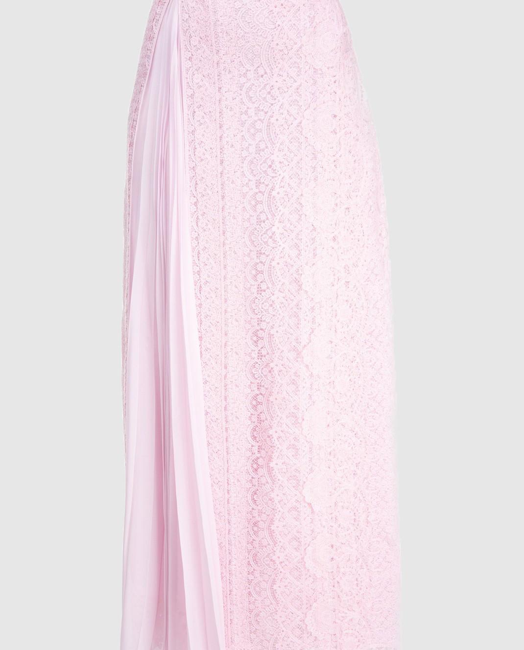 Ermanno Scervino Розовая юбка D312O707FDHUM изображение 3