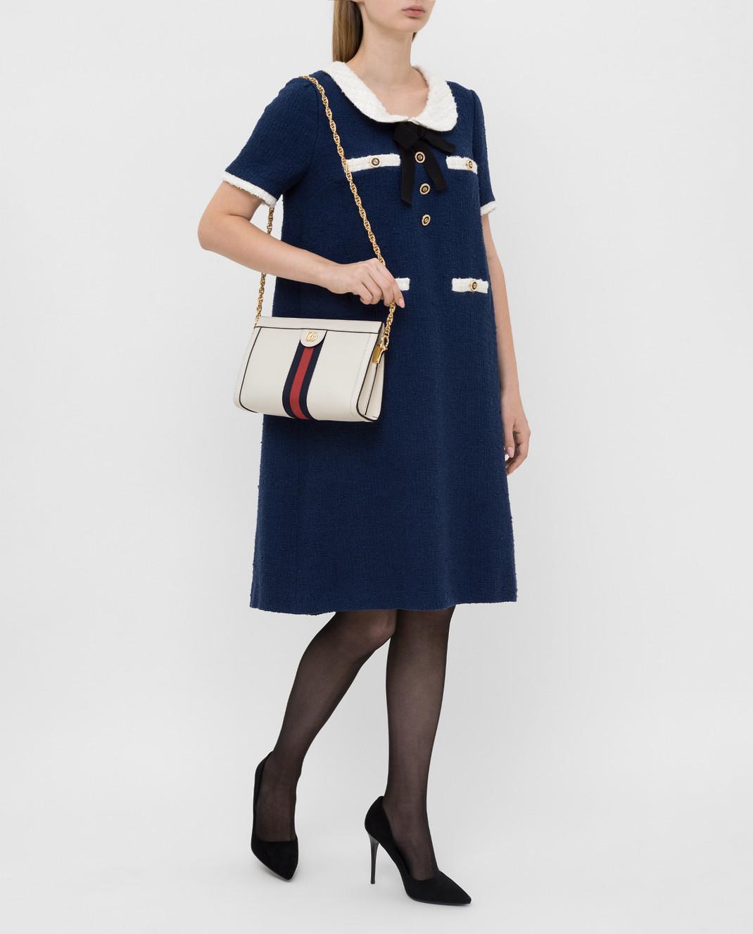 Gucci Синее платье 576826 изображение 2