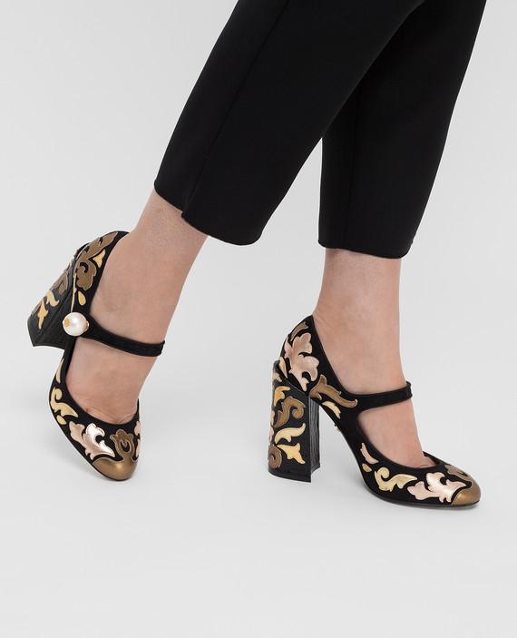 Черные туфли Mary Jane hover
