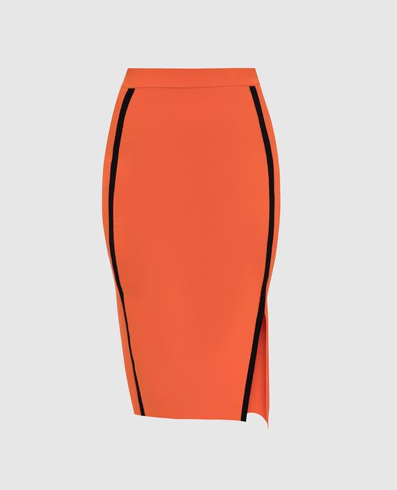Оранжевая юбка