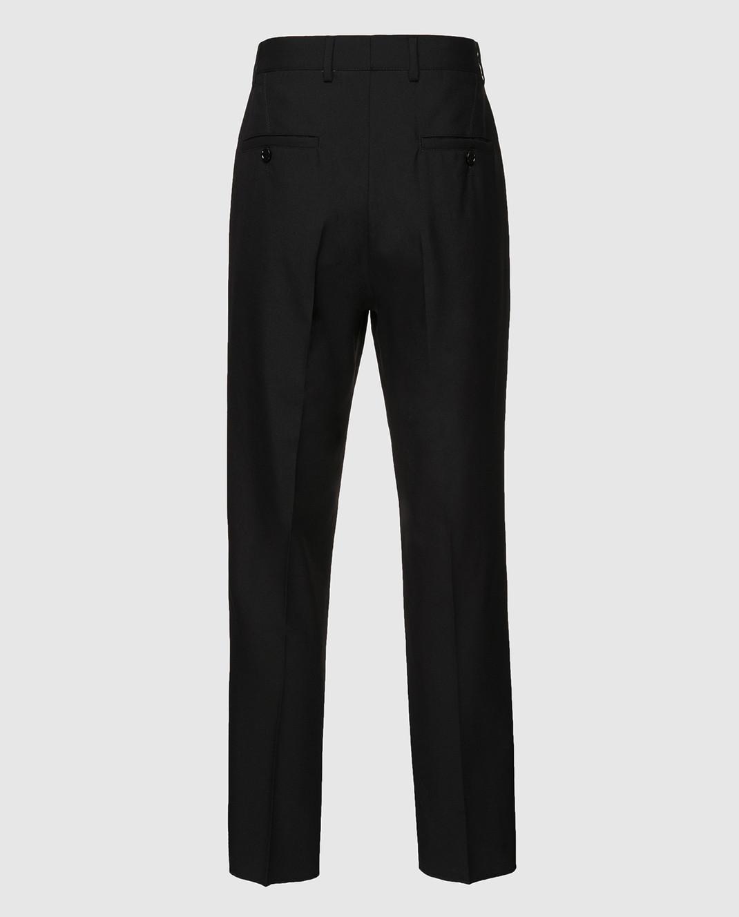 Gucci Черные брюки из шерсти 512968 изображение 2