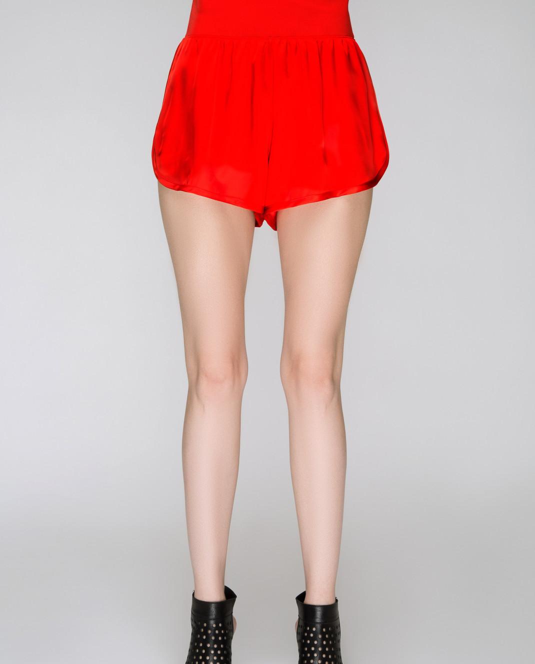Sonia Rykiel Красные шорты 15402306 изображение 3