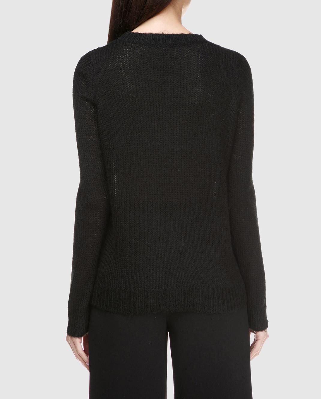 Черный пуловер Manoush PH7BOPM — Symbol