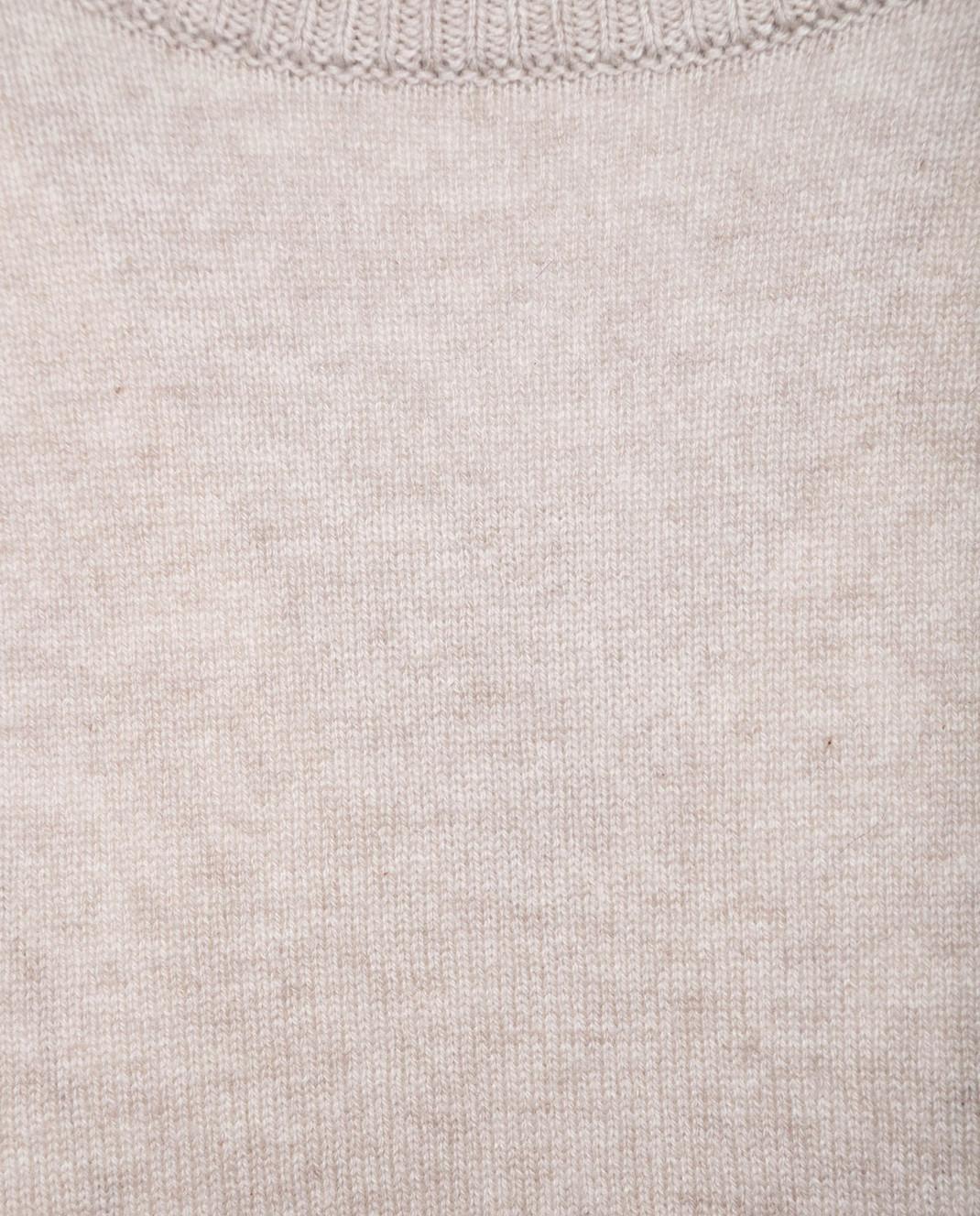 Allude Бежевый джемпер 18017002 изображение 3