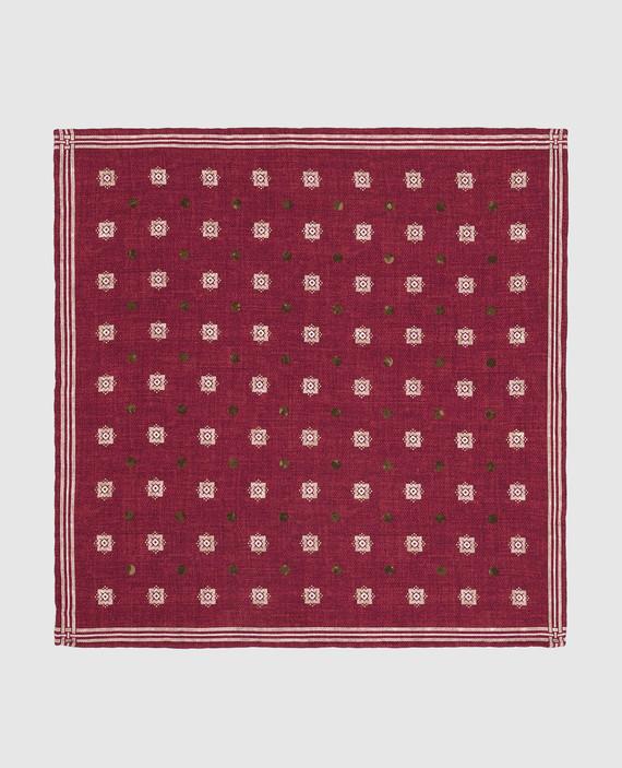 Двухсторонний платок из шелка