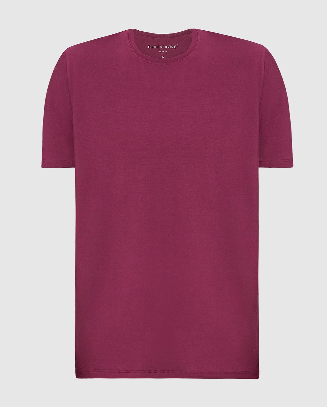Derek Rose Бордовая футболка 3048BASE005