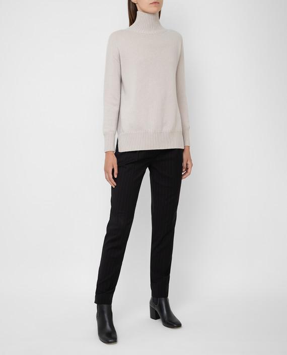 Черные брюки из шерсти hover