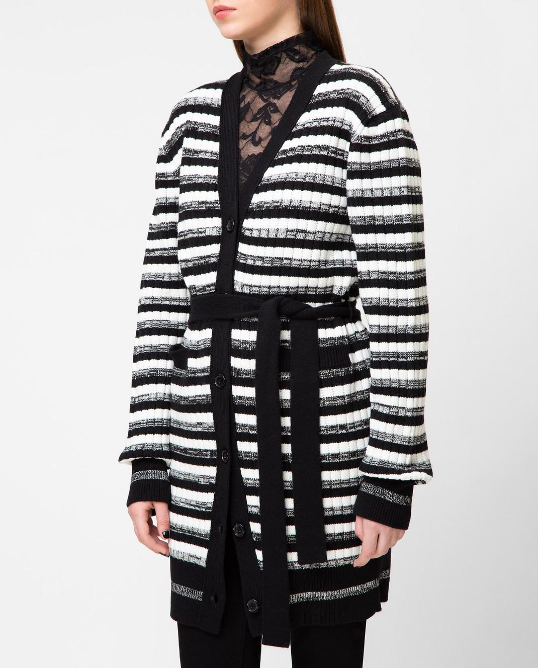 Dolce&Gabbana Черный кардиган FX269TJAMKH изображение 3