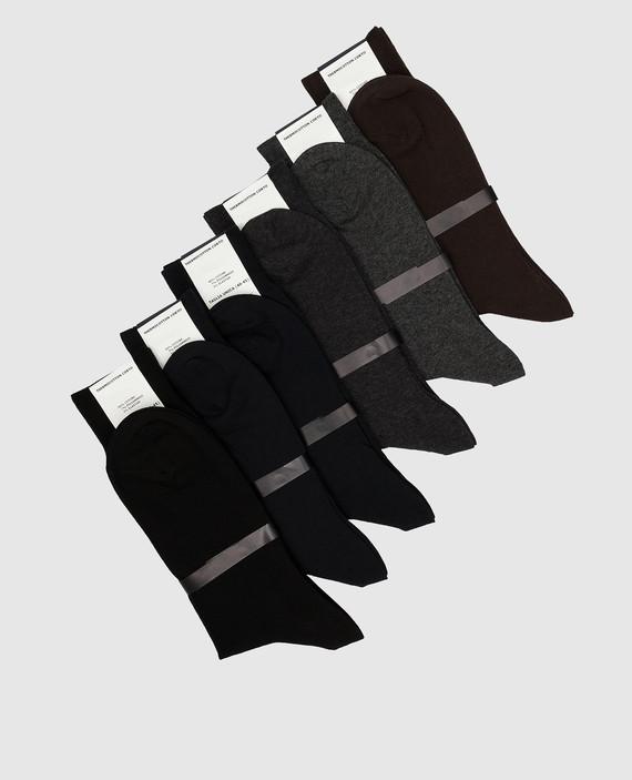Набор из черных носков hover