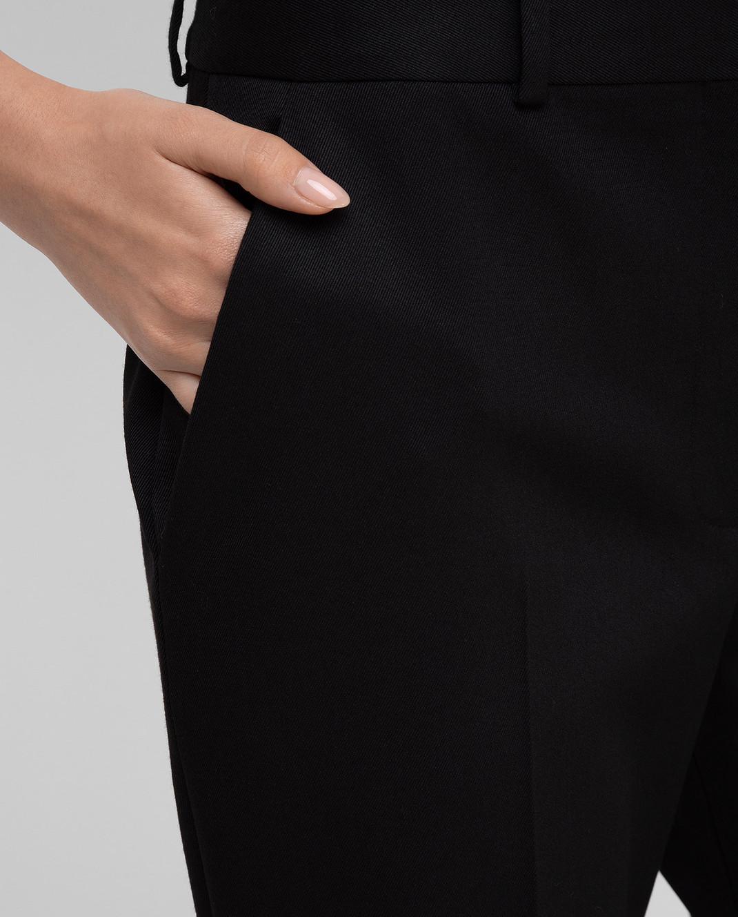 Altuzarra Черные брюки из шерсти изображение 5