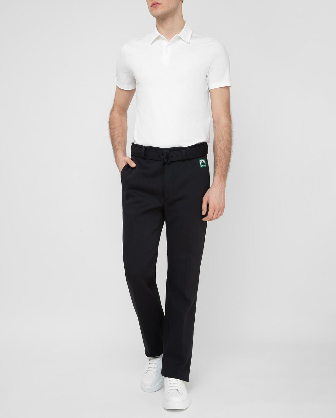Prada Черные брюки UP00391TQX изображение 2