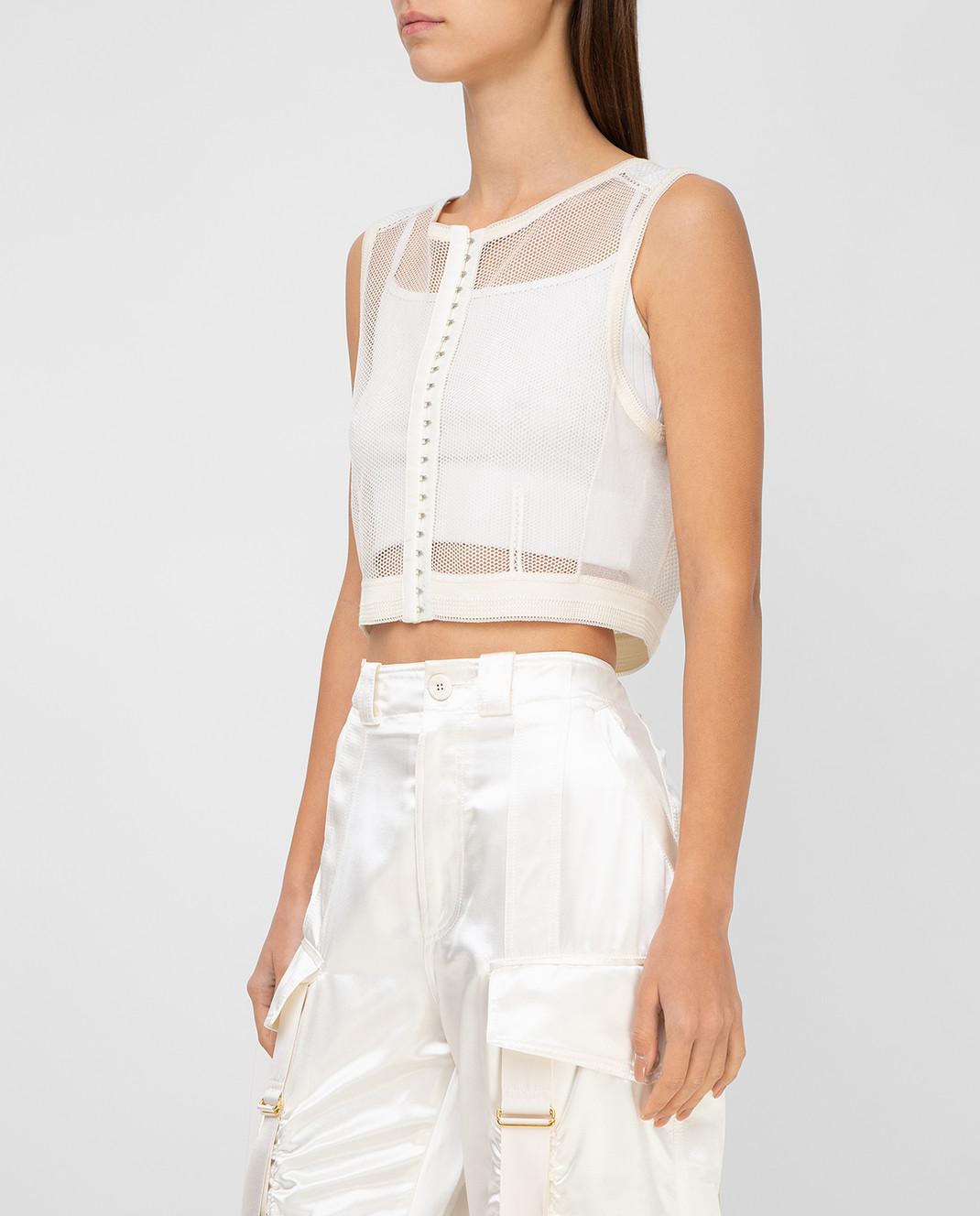 Balenciaga Белый топ 426823 изображение 3