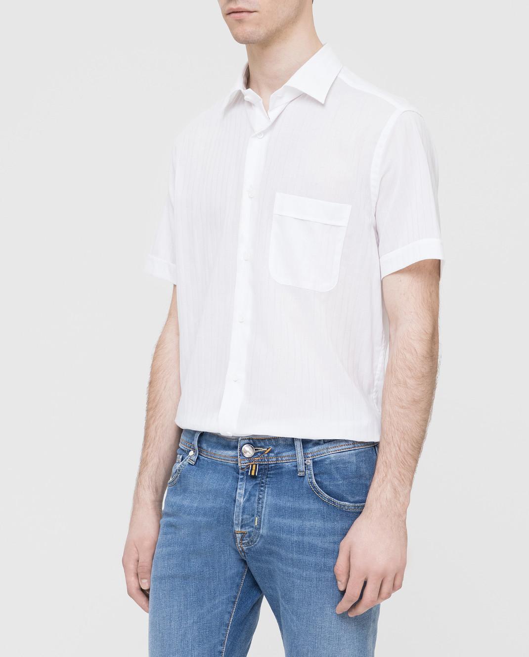 Carrel Белая рубашка изображение 3