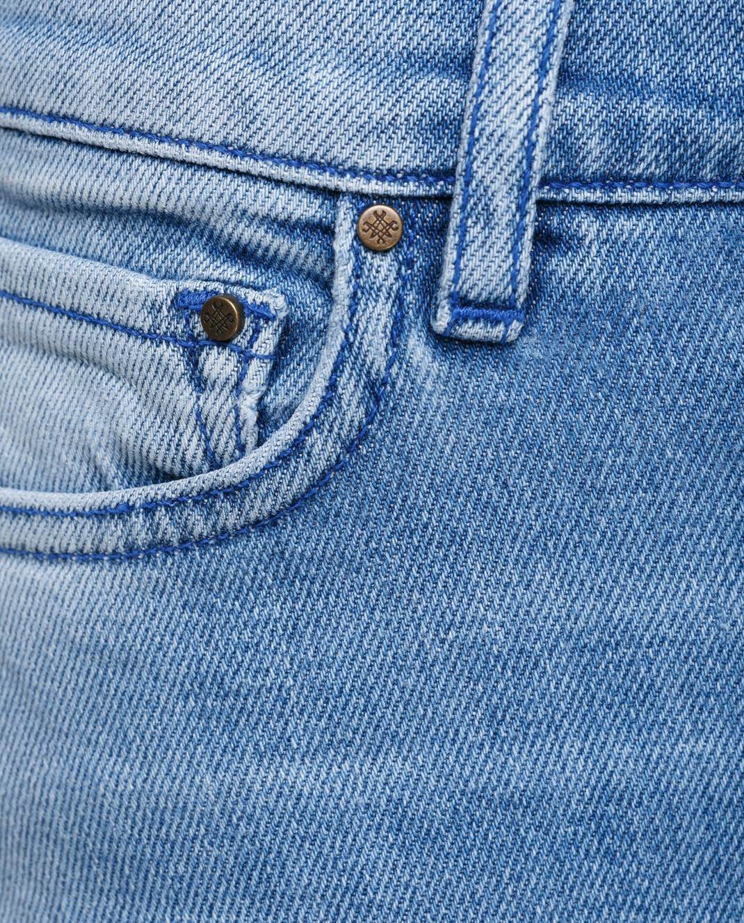 Mr&Mrs Italy Голубые джинсы JE040 изображение 5