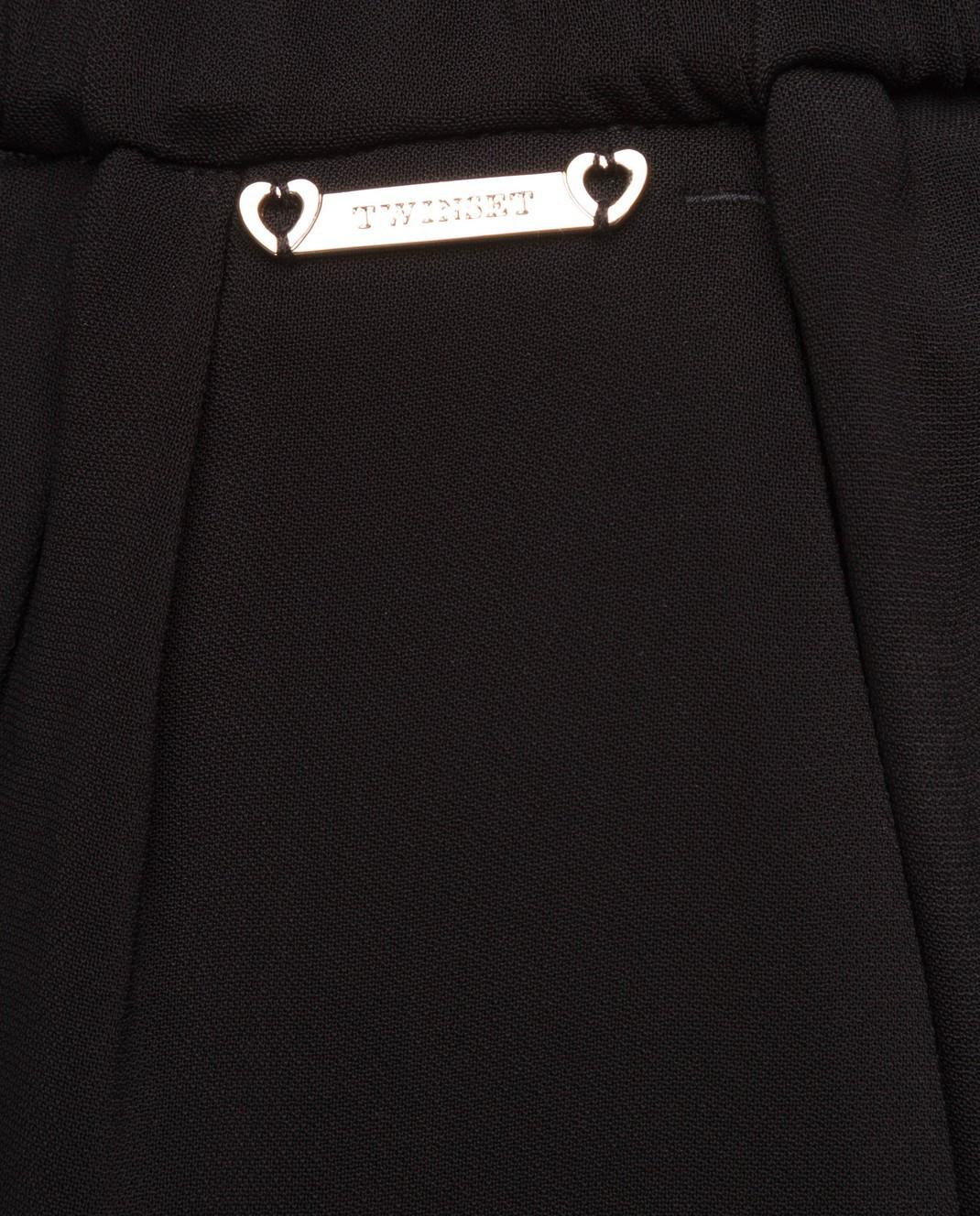 Twin Set Черные брюки изображение 6