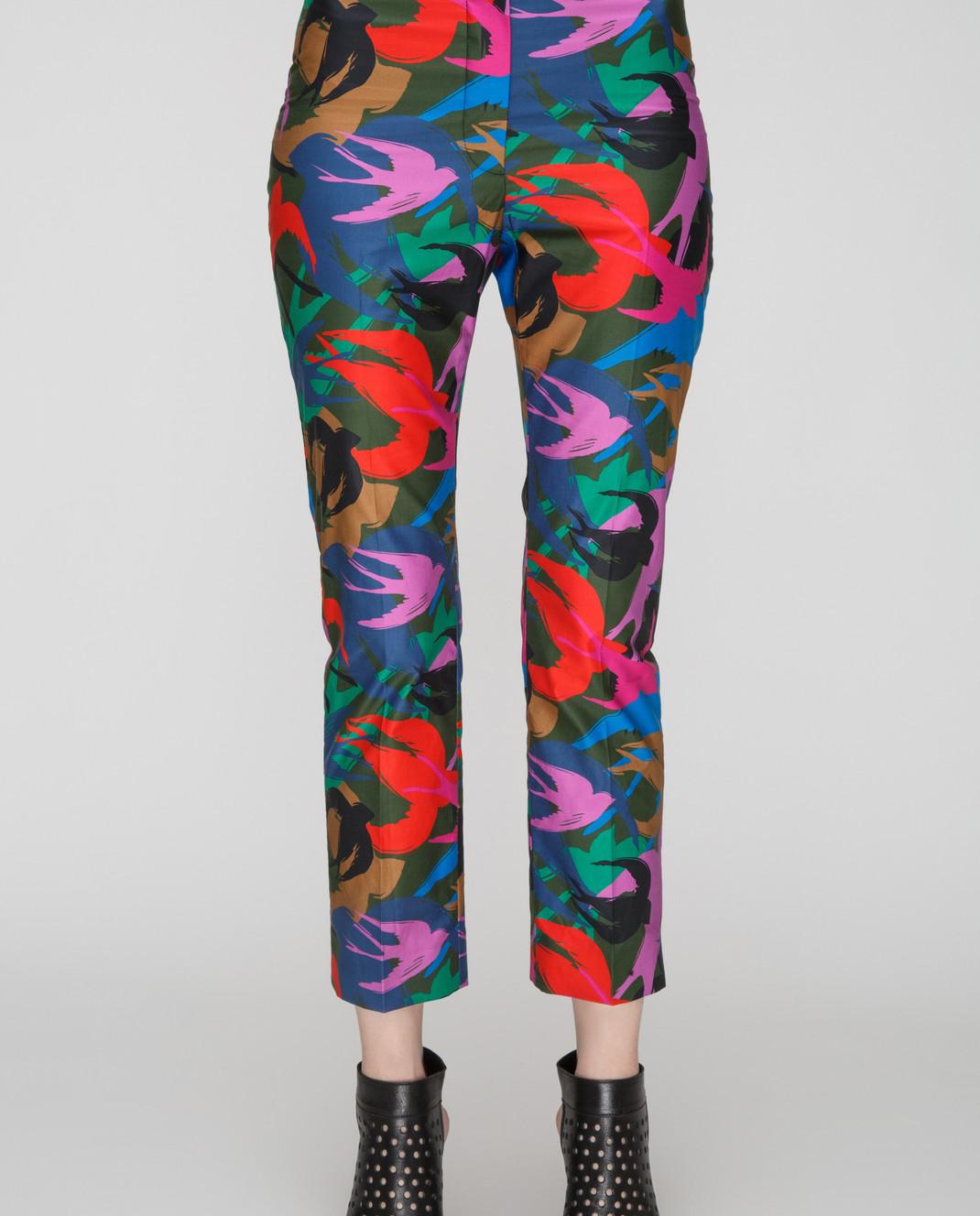 Sonia Rykiel Темно-зеленые брюки 15329342 изображение 3