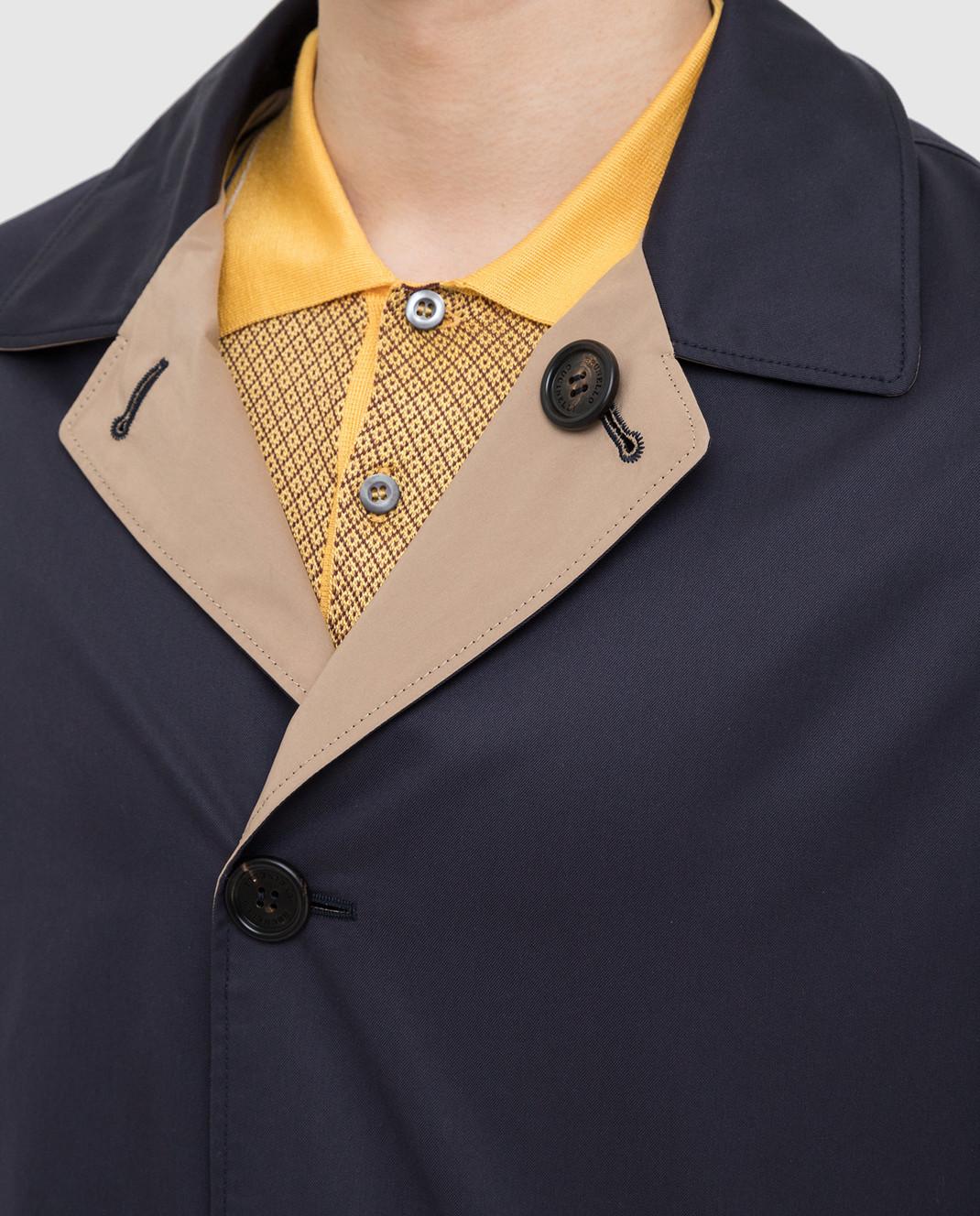 Brunello Cucinelli Двухстороннее пальто MD4506148 изображение 5