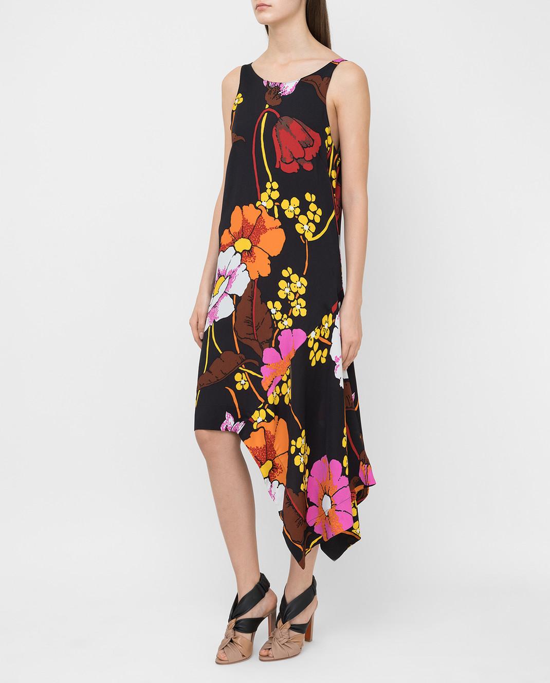 Marni Черное платье ABMAT50A00TV457 изображение 3