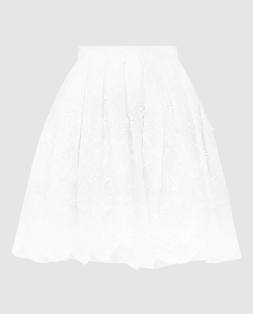 Ermanno Scervino Белая юбка D282O310AMX