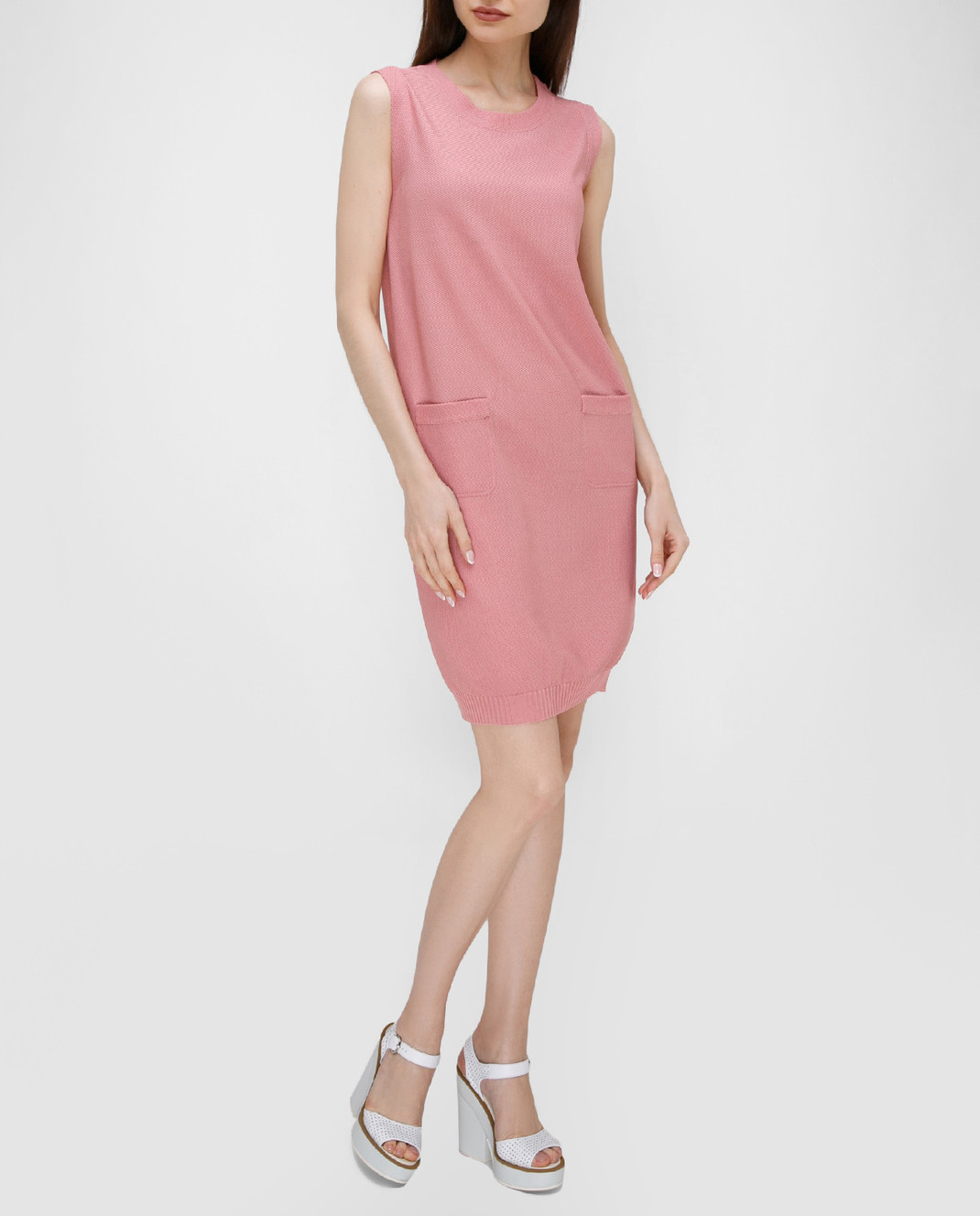 Antonella Creazioni Розовое платье 12260 изображение 2