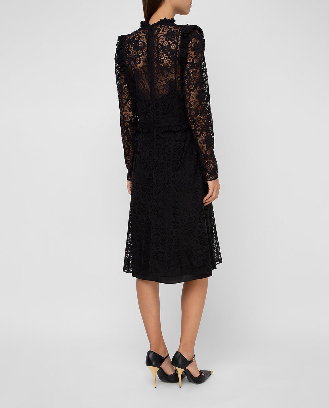 Altuzarra Черное платье 318316795 изображение 4