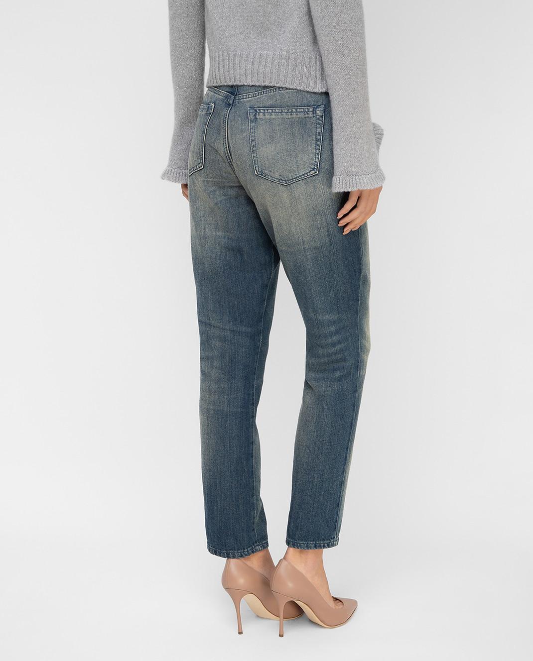 Twin Set Синие джинсы TS72MR изображение 4