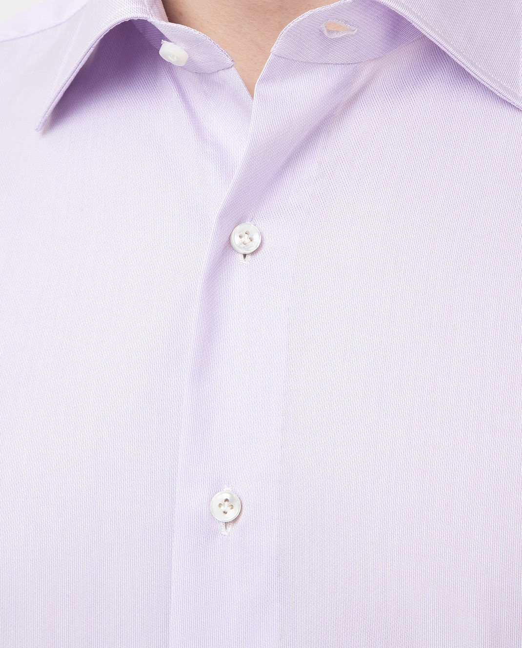 Luciano Lombardi Сиреневая рубашка 4653085 изображение 5