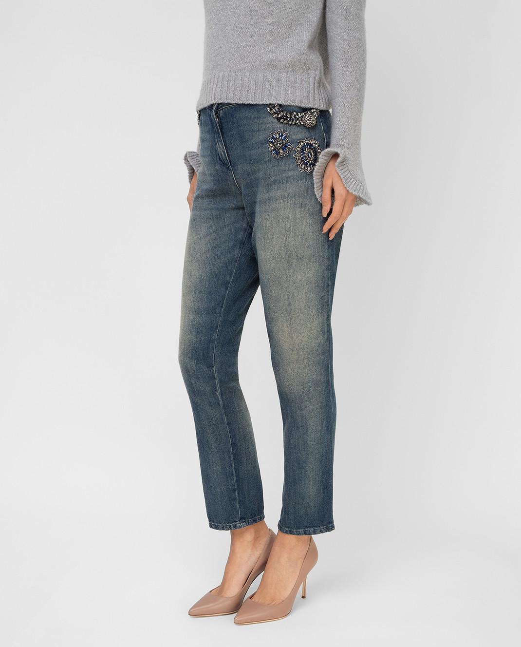 Twin Set Синие джинсы TS72MR изображение 3