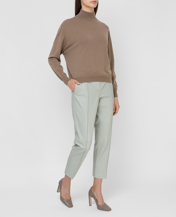 Кожаные брюки hover