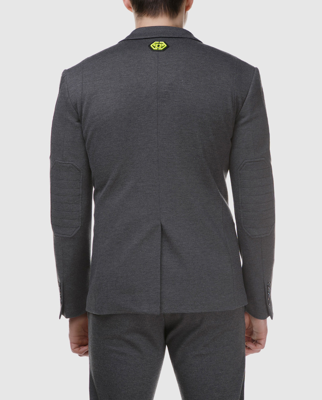 Philipp Plein Серый пиджак MRF0323 изображение 4