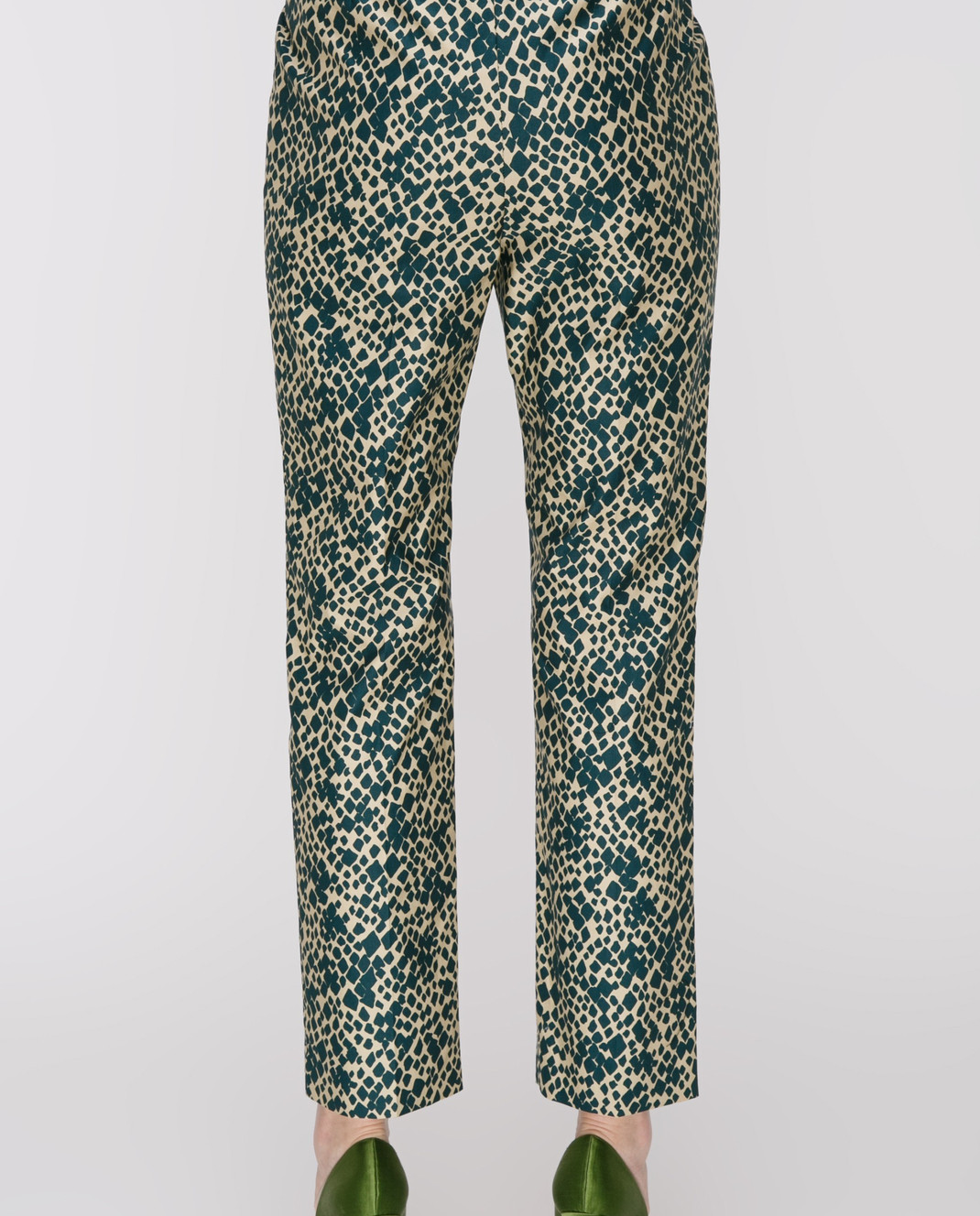 Sonia Rykiel Зеленые брюки 17331338 изображение 4