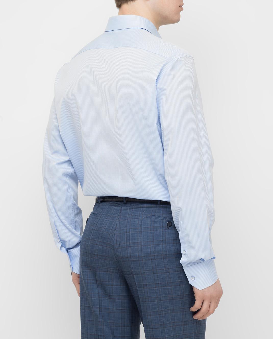 Stefano Ricci Голубая рубашка MC000540L1803 изображение 4
