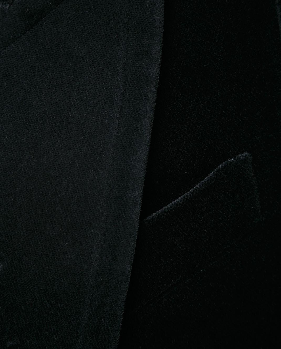 Gucci Черный бархатный пиджак изображение 5