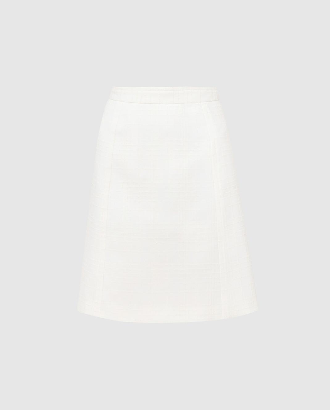 Bottega Veneta Белая юбка 544961