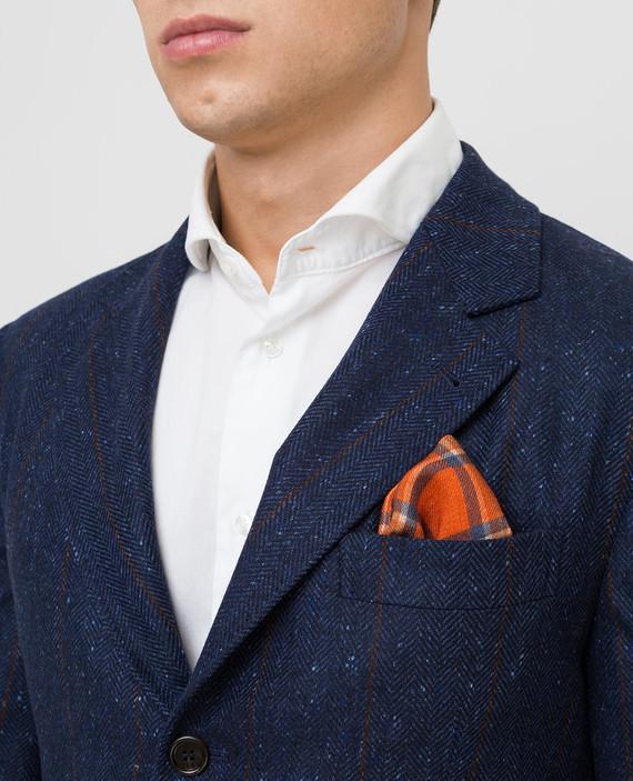 Оранжевый платок из шерсти hover