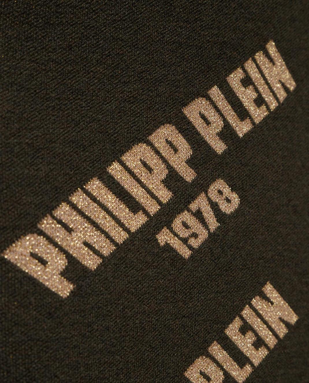 Philipp Plein Зеленое платье WKG0181 изображение 5