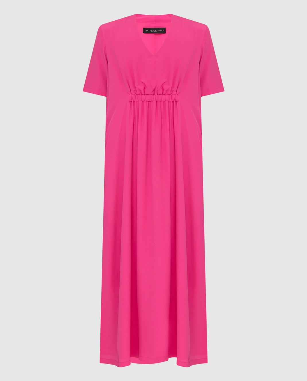 Fabiana Filippi Розовое платье ABD260B985