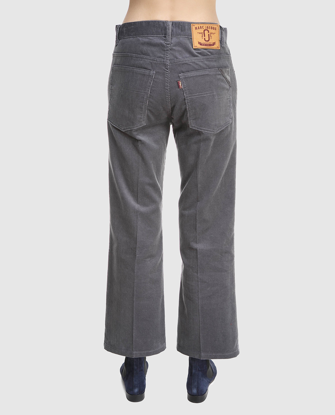 Marc Jacobs Серые вельветовые брюки M4007092 изображение 3