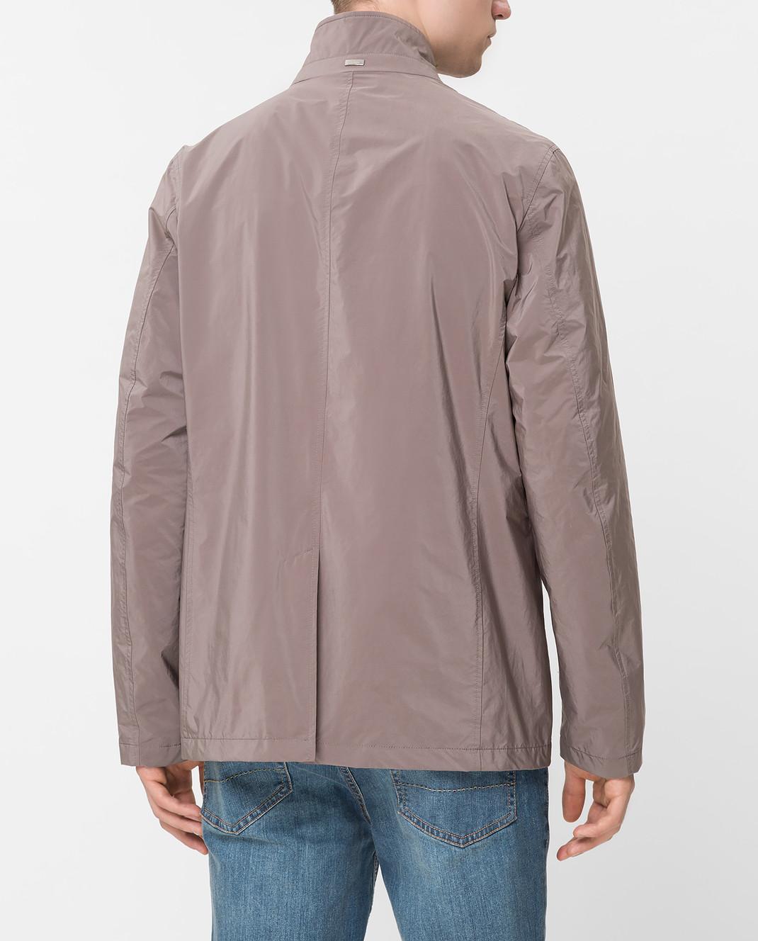 Herno Светло-коричневая куртка GA0074U изображение 4