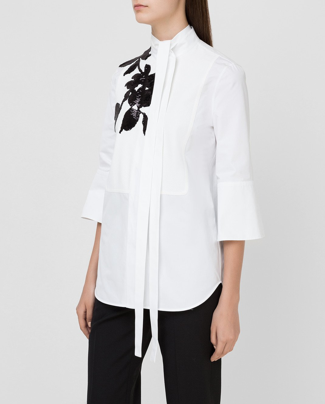 Valentino Белая рубашка изображение 3