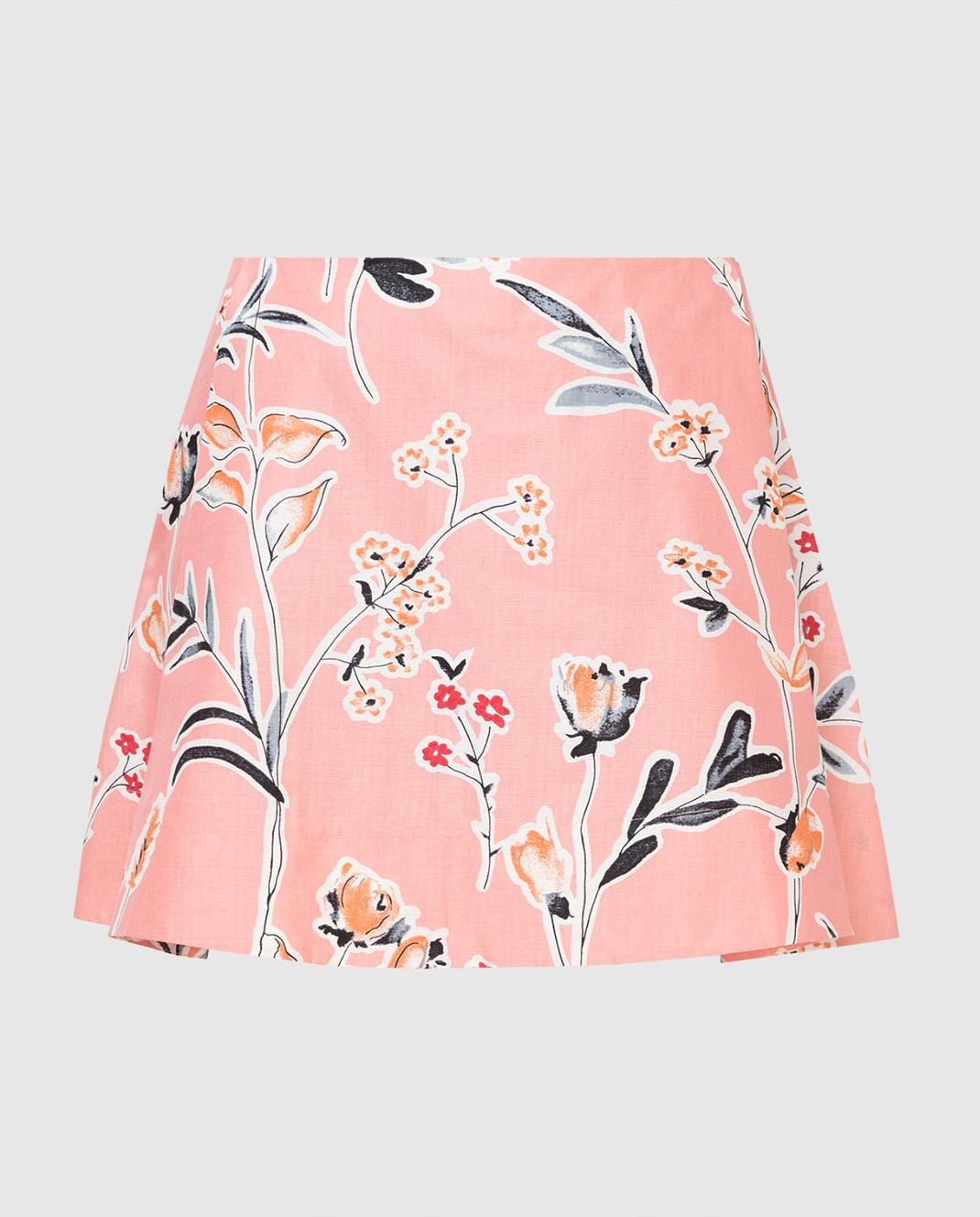 Marni Розовая юбка GOMAR35A00TCR58